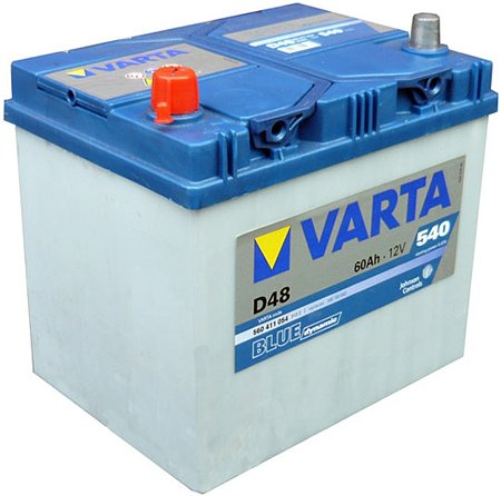 Аккумулятор VARTA BLUE Dynamic D48 560411054 (60Ah)