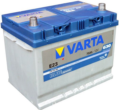 Аккумулятор VARTA BLUE Dynamic E23 570412063 (70Ah)