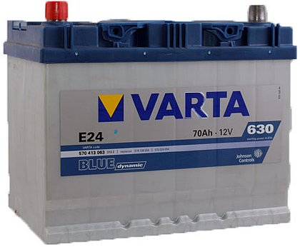 Аккумулятор VARTA BLUE Dynamic E24 570413063 (70Ah)