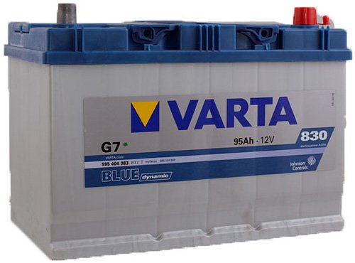 Аккумулятор VARTA BLUE Dynamic G7 595404083 (95Ah)