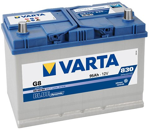 Аккумулятор VARTA BLUE Dynamic G8 595405083 (95Ah)