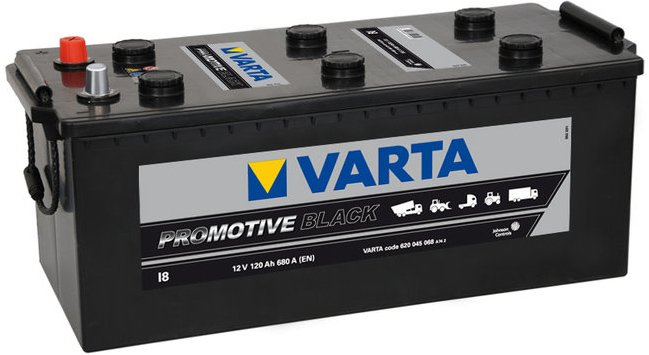 Аккумулятор VARTA PROmotive Black I18 610404068 (110Ah)