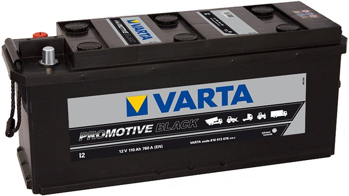 Аккумулятор VARTA PROmotive Black I2 610013076 (110Ah)