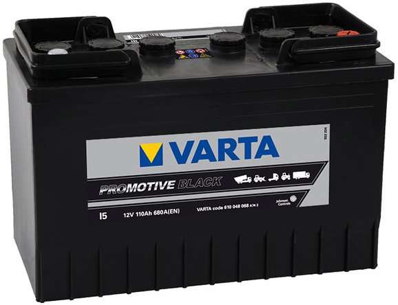 Аккумулятор VARTA PROmotive Black I5 610048068 (110Ah)