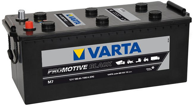 Аккумулятор VARTA PROmotive Black M7 680033110 (180Ah)