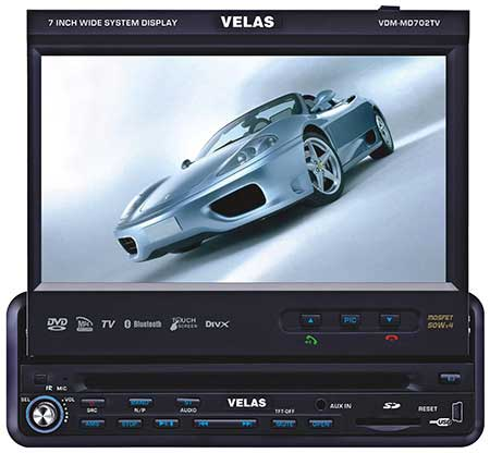 Автомагнитола Velas VDM-MD702TV