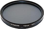 Светофильтр Vitacon C-PL 62mm