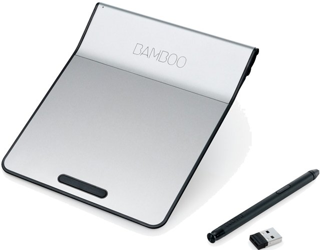 Графический планшет Wacom Bamboo Pad Wireless CTH300K