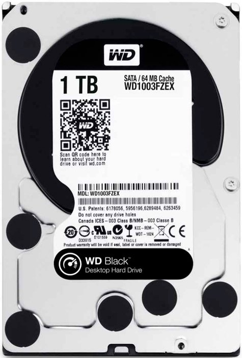 Жесткий диск Western Digital Black (WD1003FZEX) 1000 Gb фото