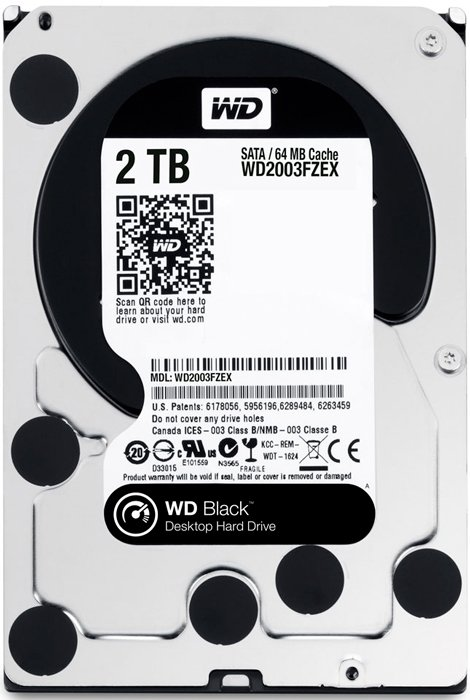 Жесткий диск Western Digital Black (WD2003FZEX) 2000 Gb