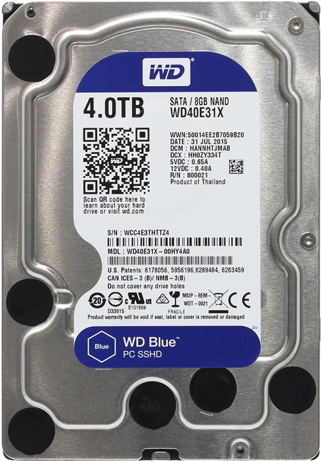 Жесткий диск Western Digital Blue (WD40E31X) 4000Gb