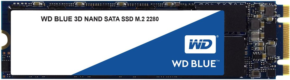 Жесткий диск SSD Western Digital Blue (WDS250G2B0B) 250Gb