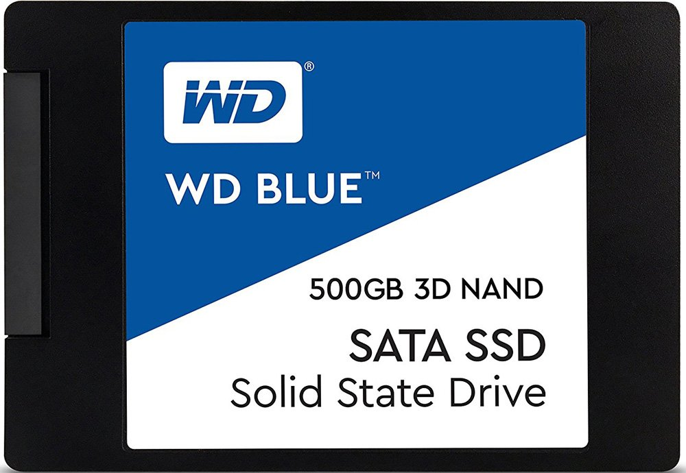 Жесткий диск SSD Western Digital Blue (WDS250G2B0B) 500Gb