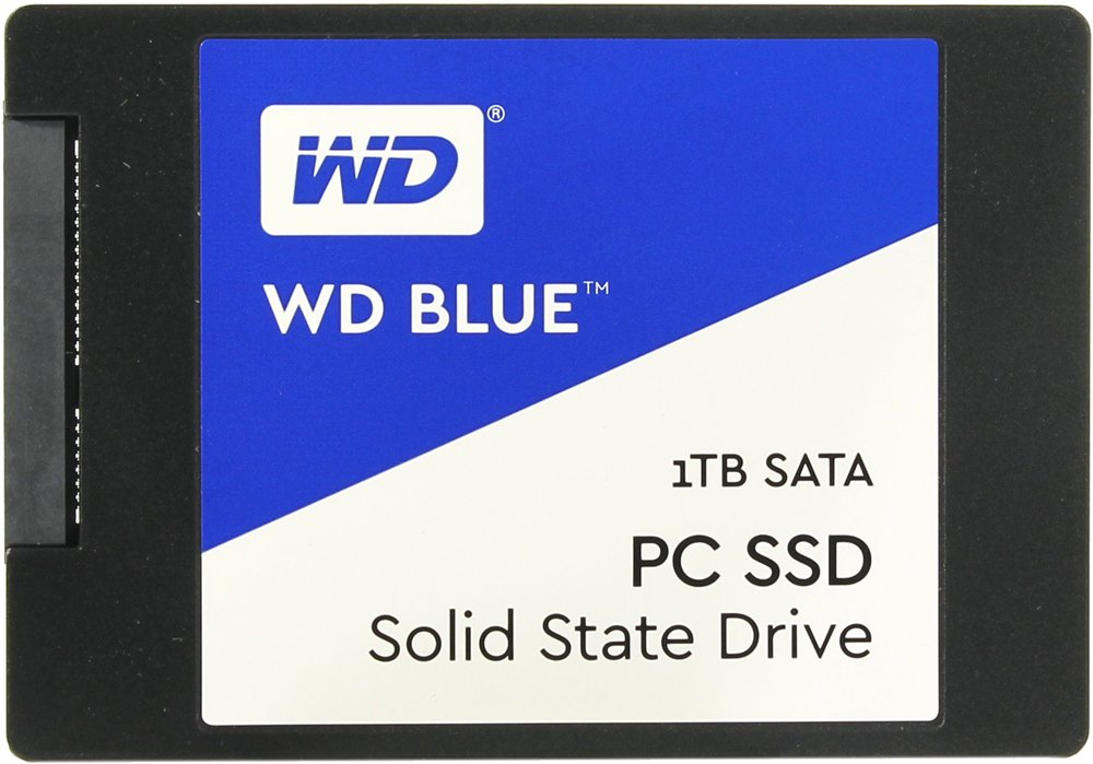Жесткий диск SSD Western Digital Blue PC SSD (WDS100T1B0A) 1000 Gb
