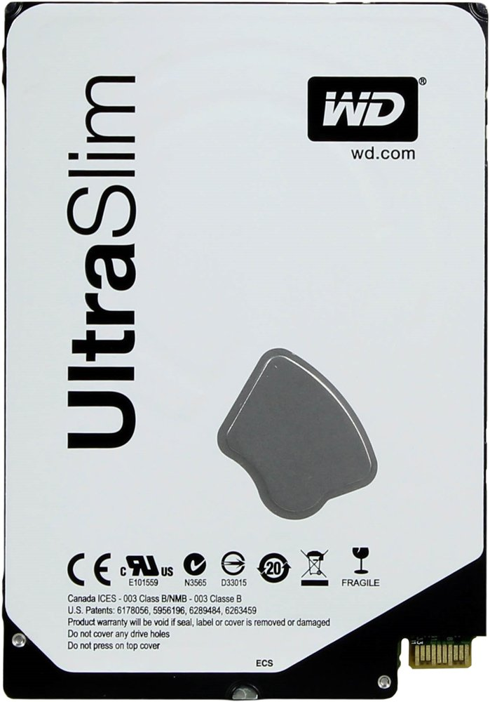 Жесткий диск Western Digital Blue UltraSlim (WD5000MPCK) 500Gb