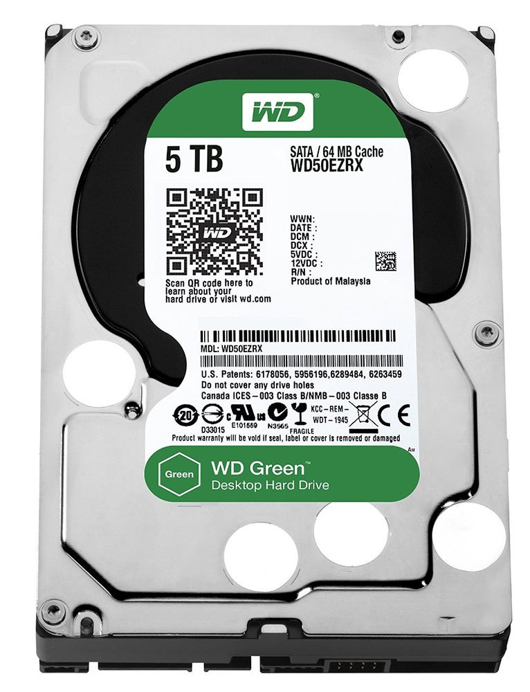 Western Digital Caviar Green (WD50EZRX) 5000 Gb