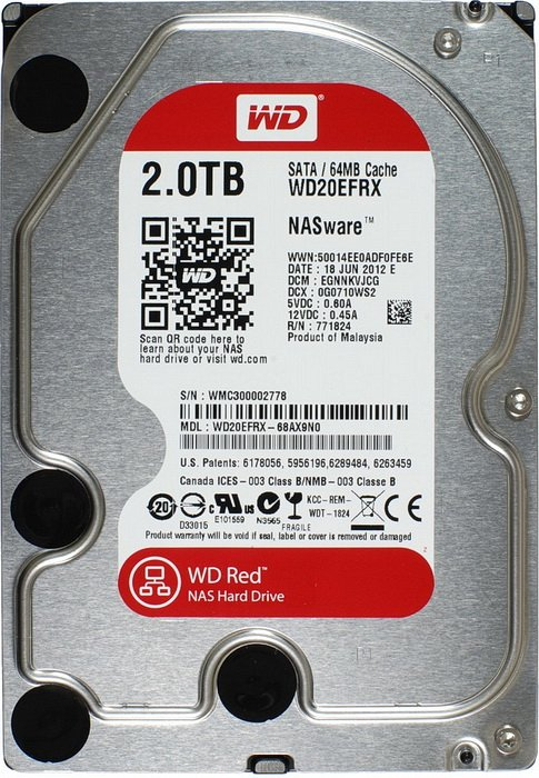 Жесткий диск Western Digital Caviar Red (WD30EFRX) 3000 Gb фото