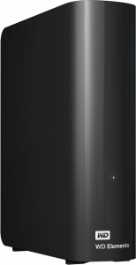 Внешний жесткий диск Western Digital Elements Desktop (WDBWLG0040HBK) 4000 Gb
