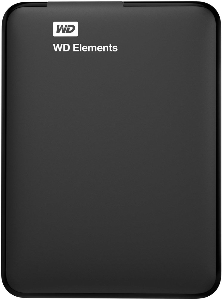 Внешний жесткий диск Western Digital Elements Portable (WDBUZG0010BBK-EESN) 1000 Gb