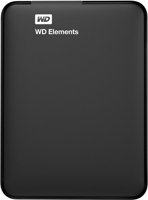 Внешний жесткий диск Western Digital Elements Portable (WDBUZG5000ABK-EESN) 500 Gb