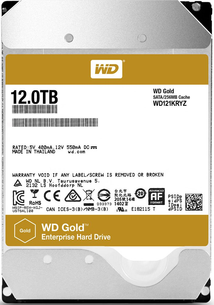 Жесткий диск Western Digital Gold (WD121KRYZ) 12000Gb фото