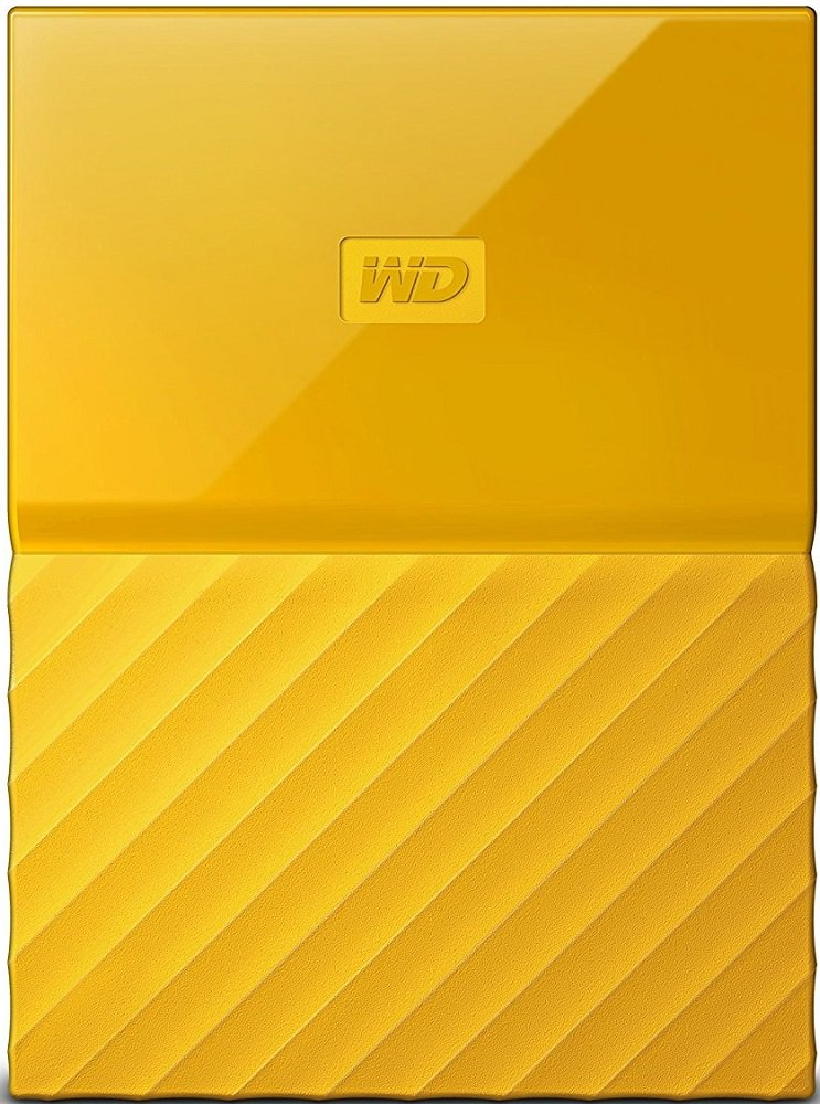 Внешний жесткий диск Western Digital My Passport (WDBBEX0010BYL) 1000Gb