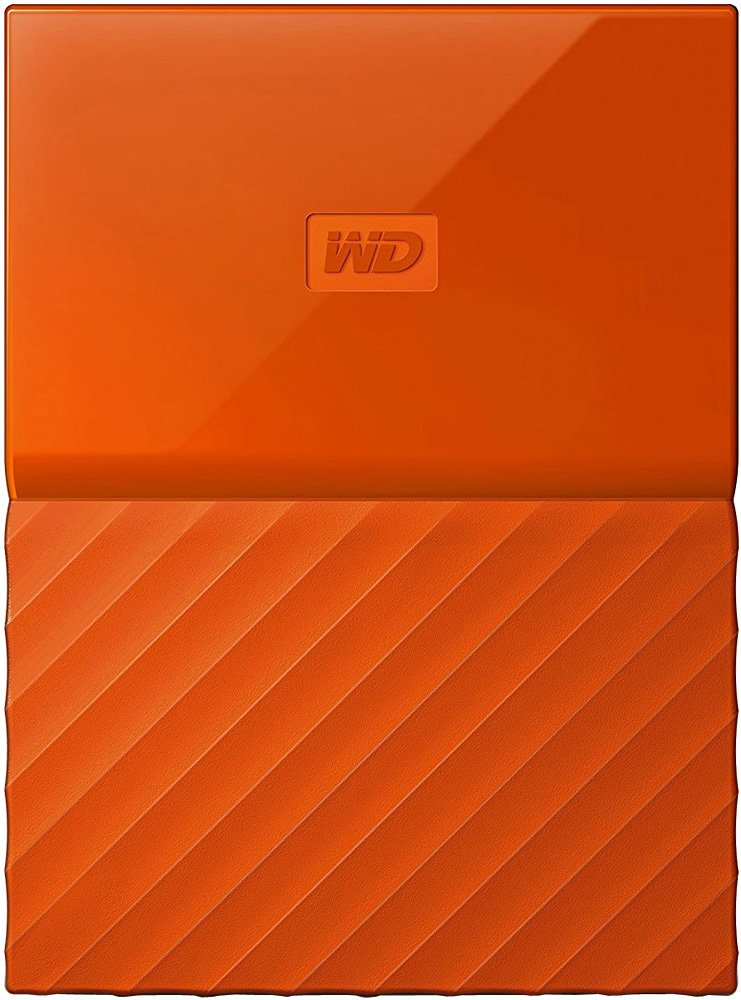 Внешний жесткий диск Western Digital My Passport (WDBYNN0010BOR) 1000 Gb