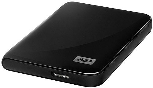 Внешний жесткий диск Western Digital My Passport Essential (WDBABS3200ABK-EESN) 320 Gb