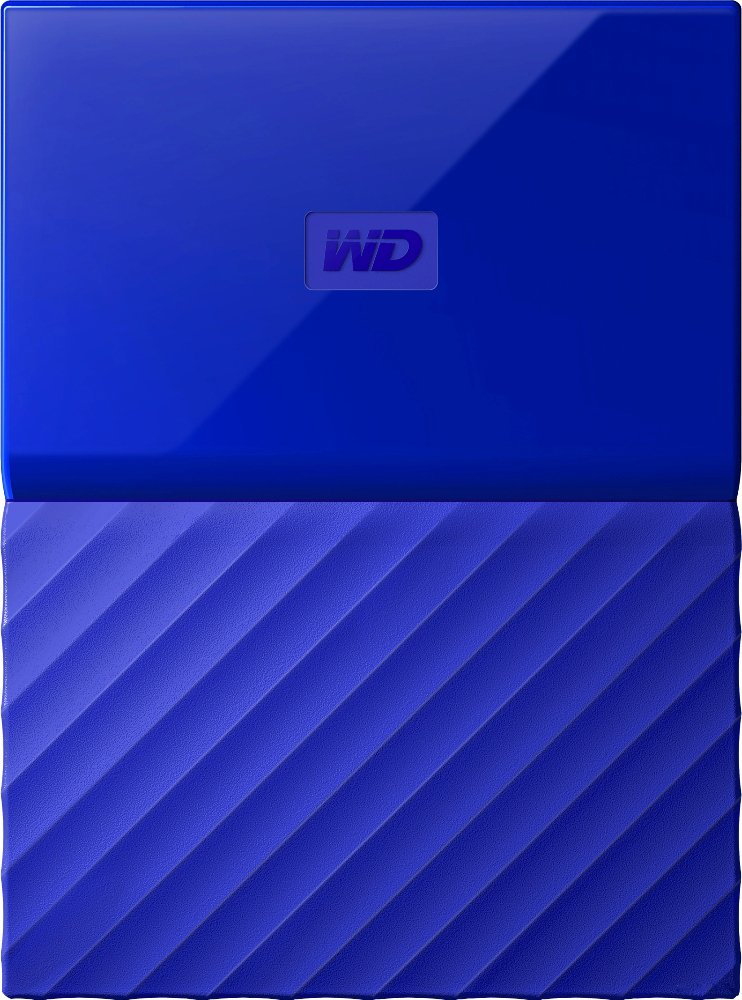 Внешний жесткий диск Western Digital My Passport Portable (WDBYNN0010BBL) 1000Gb