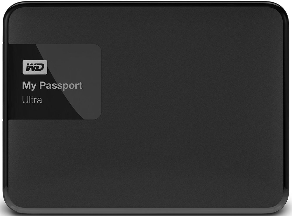 Внешний жесткий диск Western Digital My Passport Ultra (WDBBRL5000ABK) 500 Gb