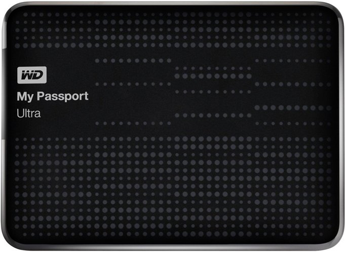 ������� ������� ���� Western Digital My Passport Ultra (WDBBUZ0020BBK-EEUE) 2000 Gb