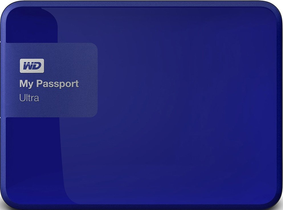 Внешний жесткий диск Western Digital My Passport Ultra (WDBGPU0010BBL) 1000 Gb фото