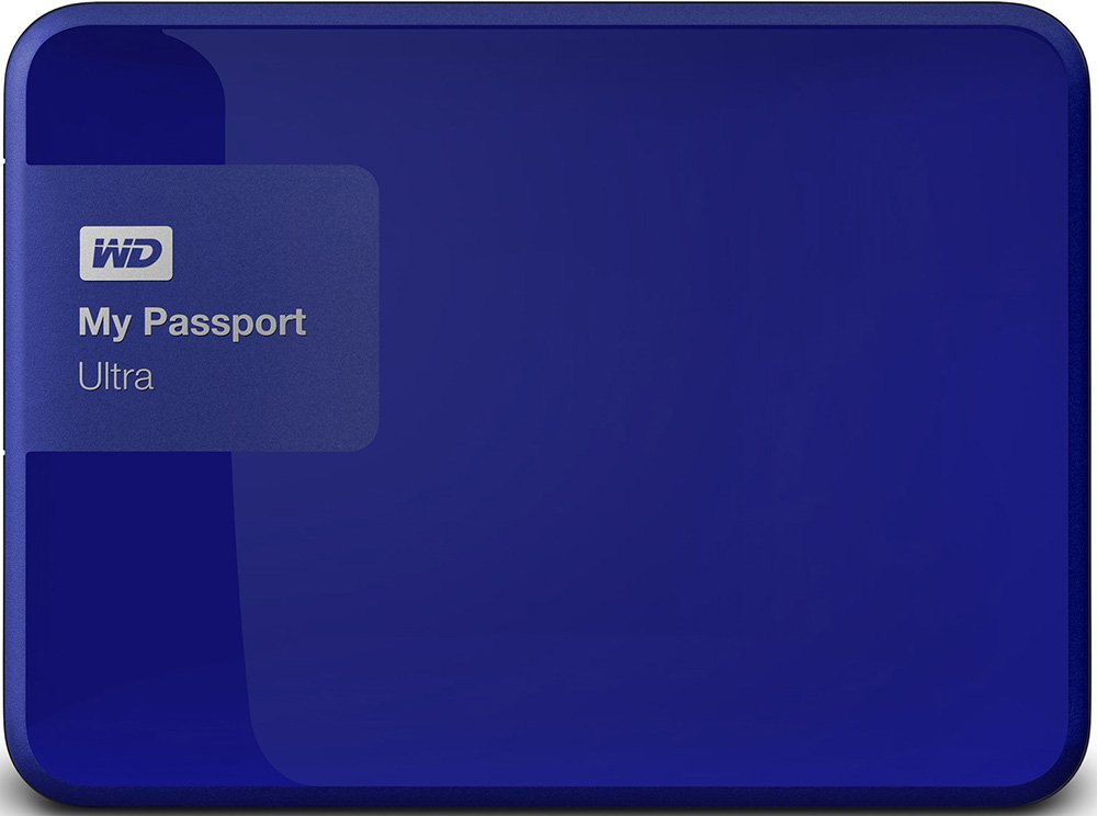 Внешний жесткий диск Western Digital My Passport Ultra (WDBNFV0020BBL) 2000 Gb