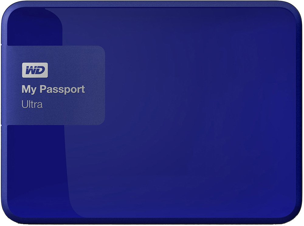 Внешний жесткий диск Western Digital My Passport Ultra (WDBWWM5000ABL) 500 Gb