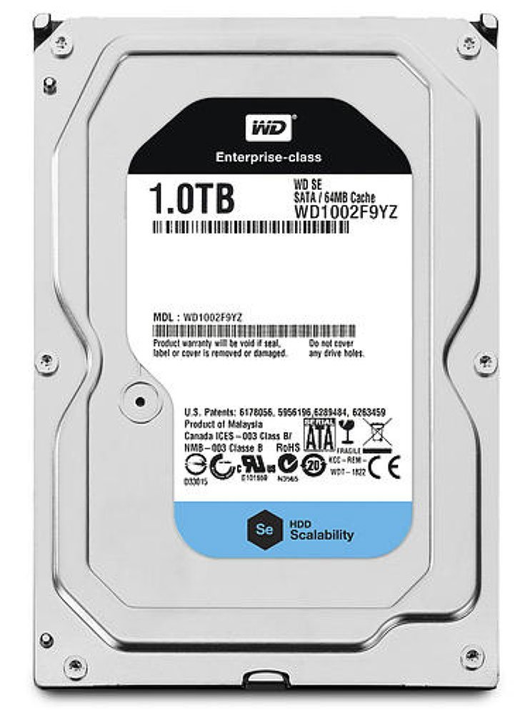 Жесткий диск Western Digital SE (WD1002F9YZ) 1000 Gb