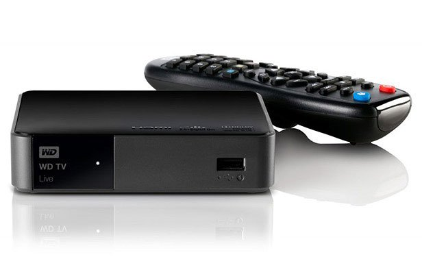 Мультимедиа проигрыватель Western Digital WD TV LIVE Streaming Media Player