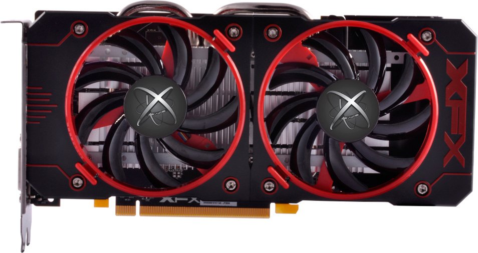 Видеокарта XFX RX-460P2DFG5 Radeon RX 460 Double Dissipation 2Gb GDDR5 128bit