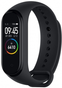 Фитнес-браслет Xiaomi Mi Smart Band 4 Black (Global Version)