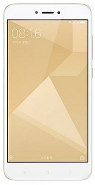 Мобильный телефон Xiaomi Redmi 4X (32Gb) (Global Version) Gold