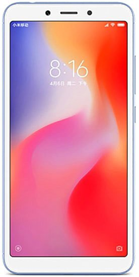 Xiaomi Redmi 6 3Gb/32Gb Blue (Global Version)