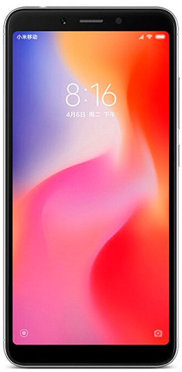 Xiaomi Redmi 6 3Gb/32Gb Gray