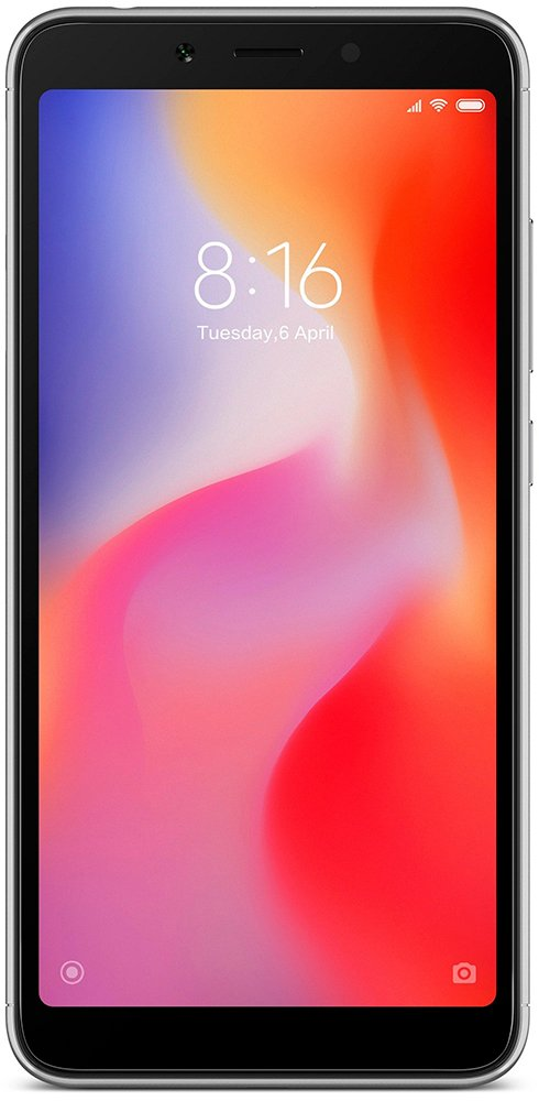 Xiaomi Redmi 6A 2Gb/16Gb Gray