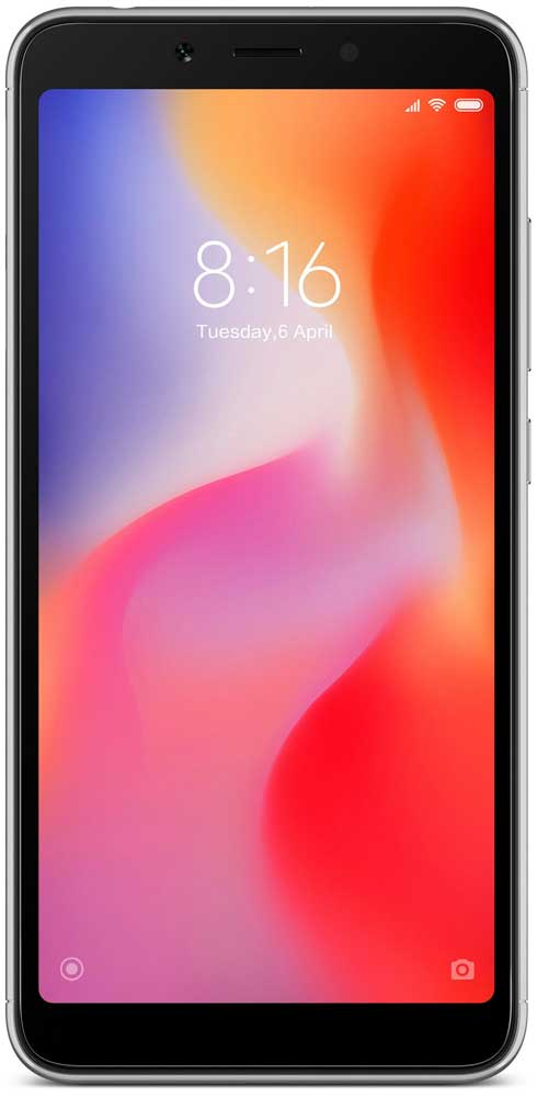 Смартфон Xiaomi Redmi 6A 2Gb/16Gb Black (Global Version) фото
