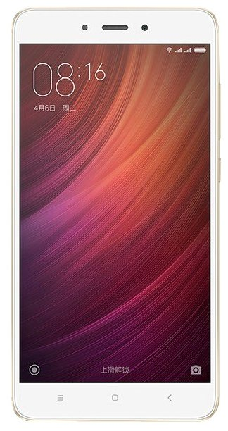 Мобильный телефон Xiaomi Redmi Note 4 (32Gb) (Global Version) Gold