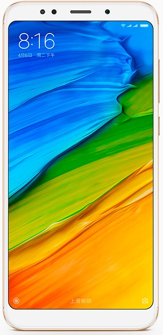 Смартфон Xiaomi Redmi Note 5 3Gb/32Gb Gold (индийская версия) фото