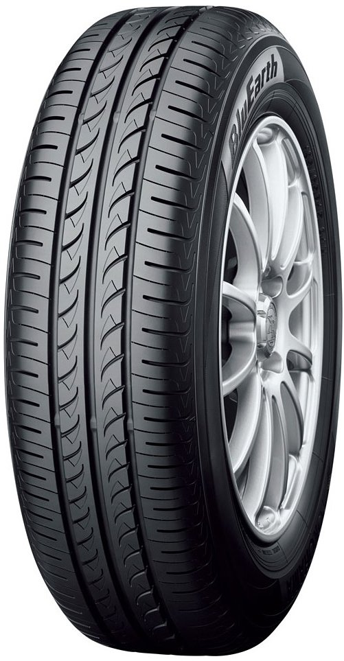 Летняя шина Yokohama BluEarth AE01 195/60R15 88H