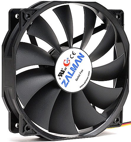 Zalman zm-f4 fan for m / tower (3пин, 135x135x25mm, 18-26дб, 900-1300об / мин)
