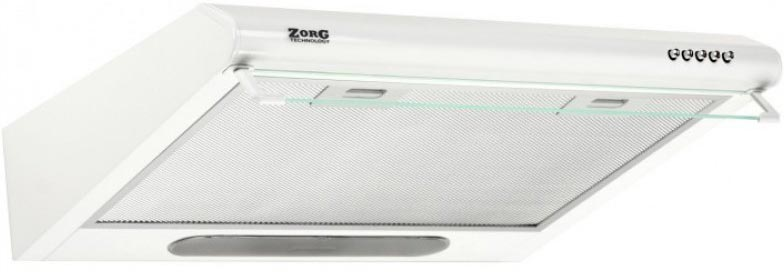 Вытяжка ZorG technology Line G White 60 (380 куб. м/ч) фото